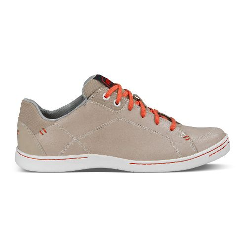 Womens Ahnu Noe Leather Walking Shoe - Ashwood 8