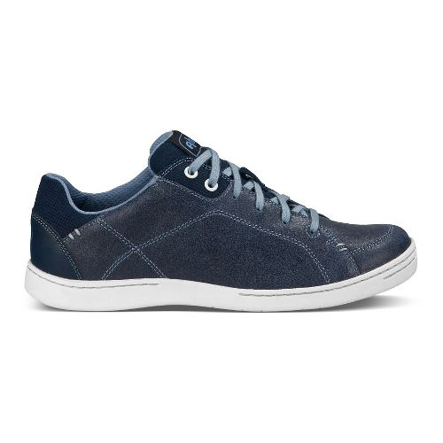 Womens Ahnu Noe Leather Walking Shoe - Blue Spell 7