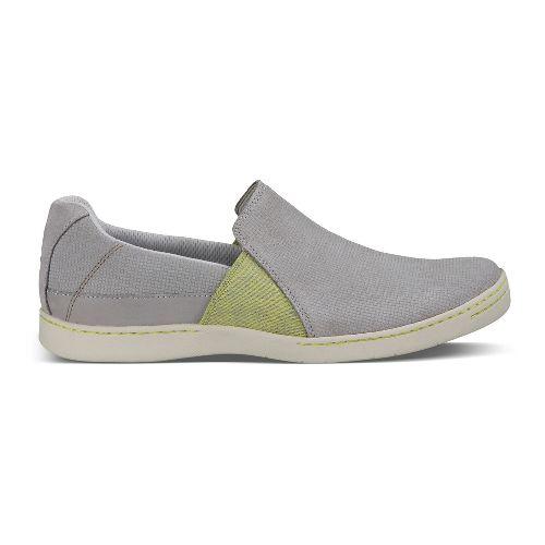 Womens Ahnu Precita Casual Shoe - Fog Grey 5.5