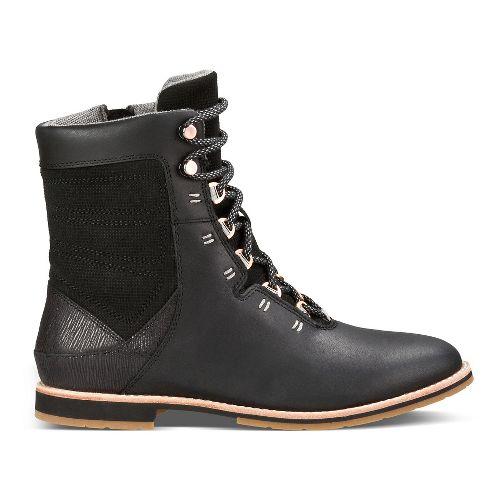 Womens Ahnu Chenery Casual Shoe - Black 8.5