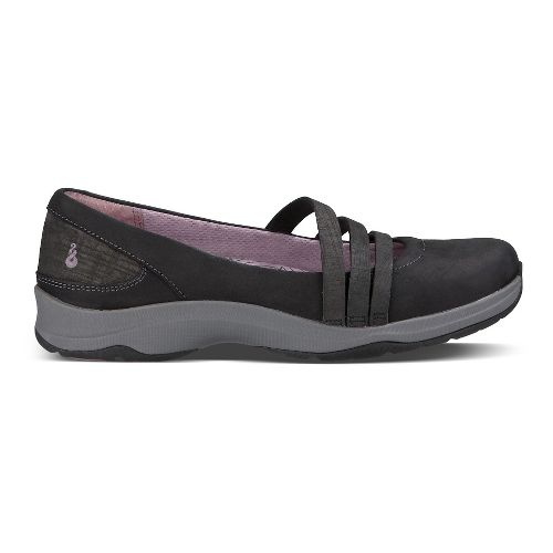 Womens Ahnu Merritt Casual Shoe - Black 8