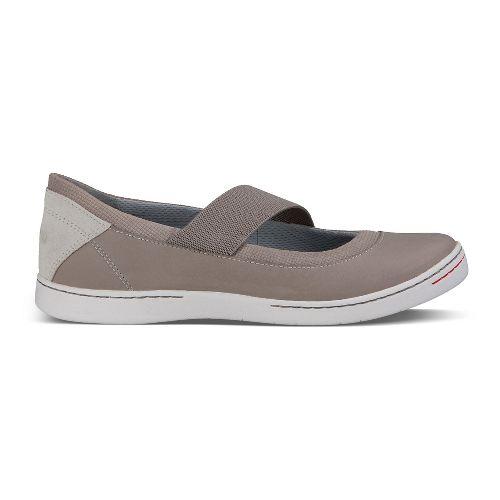 Womens Ahnu Telegraph Leather Casual Shoe - Mesa Taupe 6