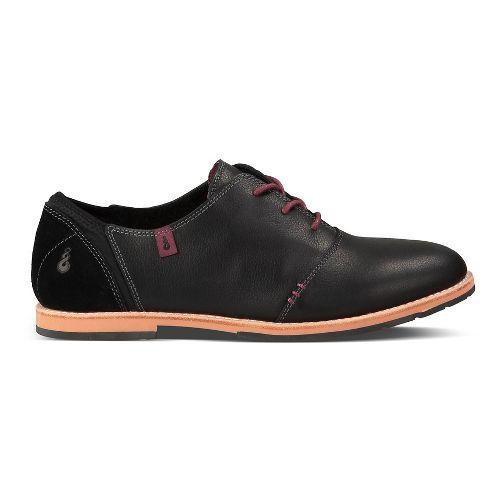 Womens Ahnu Emery Casual Shoe - Black 7.5