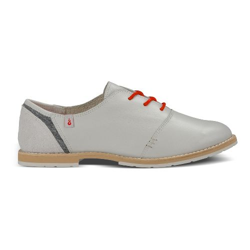 Womens Ahnu Emery Casual Shoe - Stone White 10