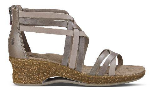 Womens Ahnu Trolley Sandals Shoe - Mesa Taupe 10.5