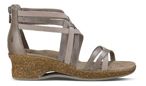 Womens Ahnu Trolley Sandals Shoe - Mesa Taupe 9.5