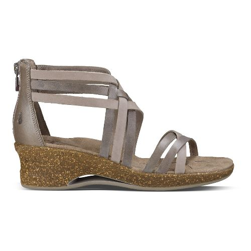 Womens Ahnu Trolley Sandals Shoe - Mesa Taupe 8