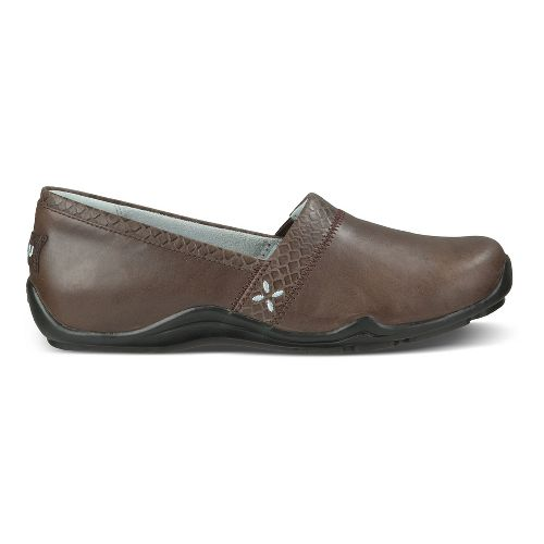 Womens Ahnu Jackie Pro Casual Shoe - Coffee Bean 8