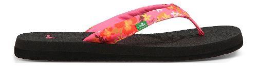 Womens Sanuk Yoga Meta Sandals Shoe - Paradise Pink Floral 8