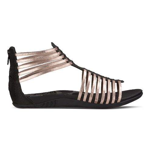 Womens Ahnu Asha Sandals Shoe - Black 8