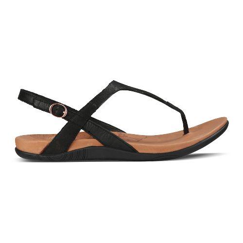 Womens Ahnu Salena Sandals Shoe - Black 10