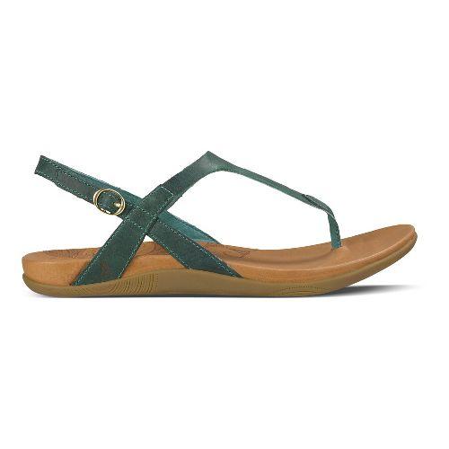 Womens Ahnu Salena Sandals Shoe - Dusty Teal 9