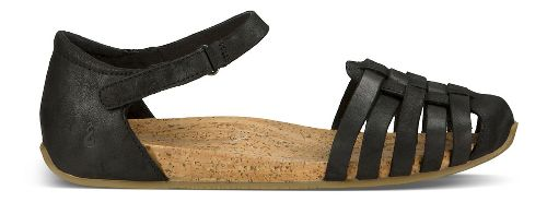 Womens Ahnu Malini Sandals Shoe - Black 6