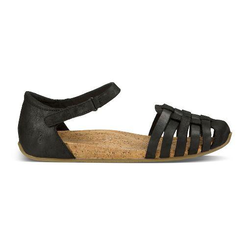 Womens Ahnu Malini Sandals Shoe - Black 5.5