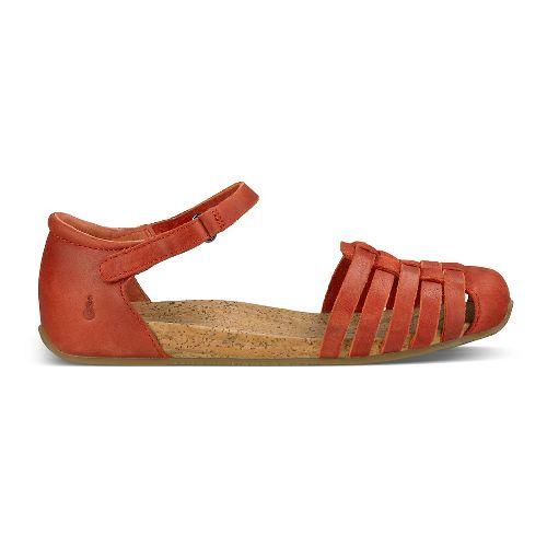 Womens Ahnu Malini Sandals Shoe - Red Stone 10