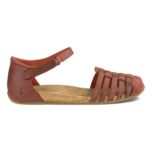 Womens Ahnu Malini Sandals Shoe - Oak 8