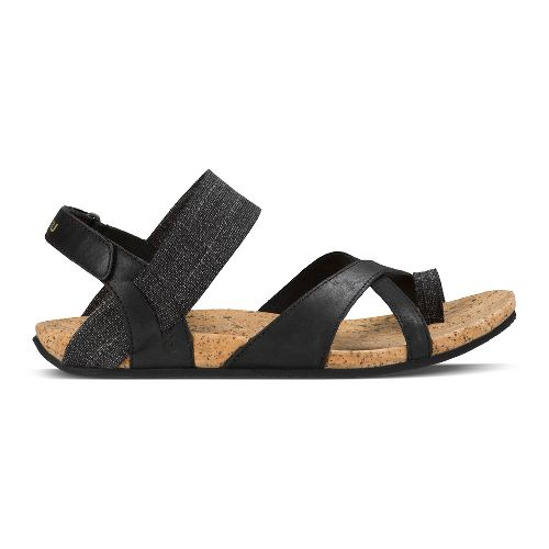 Womens Ahnu Sananda Sandals Shoe - Black 7