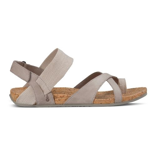 Womens Ahnu Sananda Sandals Shoe - Mesa Taupe 8