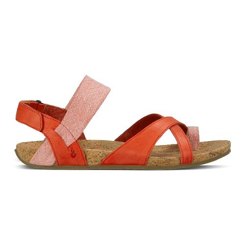 Womens Ahnu Sananda Sandals Shoe - Red Stone 8