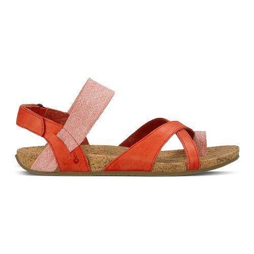 Womens Ahnu Sananda Sandals Shoe - Red Stone 9