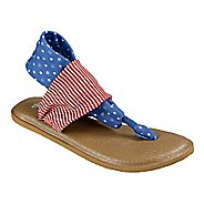 Womens Sanuk Yoga Sling 2 Prints Patriot Sandals Shoe