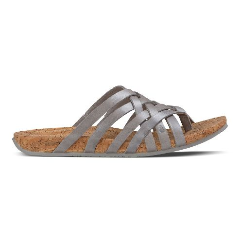 Womens Ahnu Maia Thong Sandals Shoe - Brandy 5