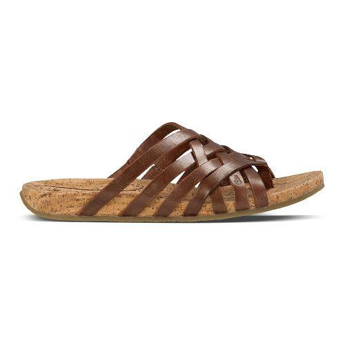 Womens Ahnu Maia Thong Sandals Shoe - Brandy 6