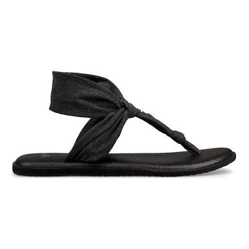 Womens Sanuk Yoga Sling Ella Sandals Shoe - Grey 6