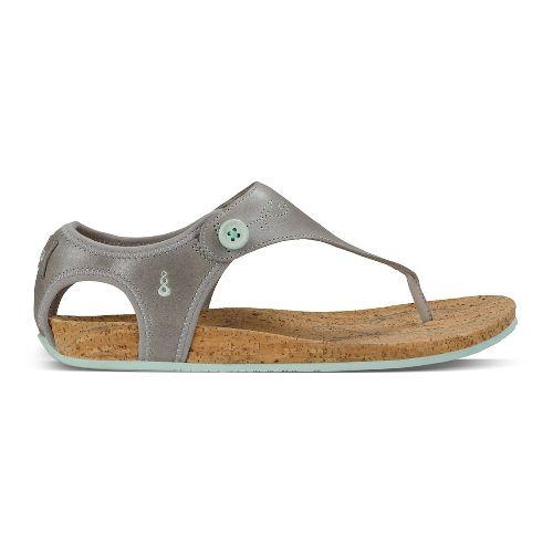 Womens Ahnu Serena Sandals Shoe - Mesa Taupe 11