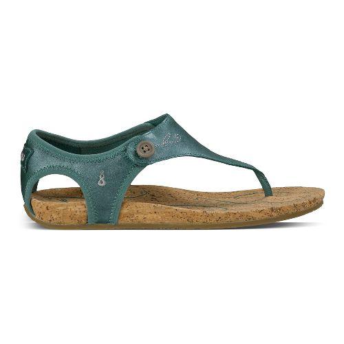 Womens Ahnu Serena Sandals Shoe - Dusty Teal 5