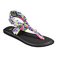 Womens Sanuk Yoga Sling Ella Prints Sandals Shoe