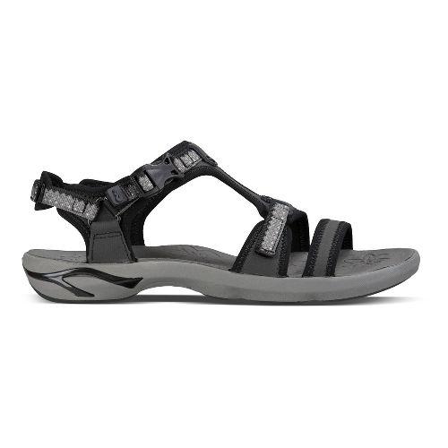 Womens Ahnu Moonstone Sandals Shoe - Lace Black 7