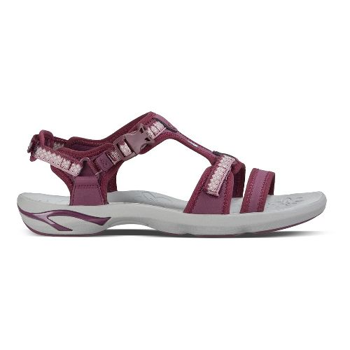Womens Ahnu Moonstone Sandals Shoe - Lace Dark Plum 8