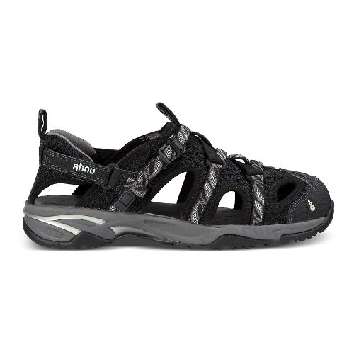 Womens Ahnu Tilden V Sandals Shoe - Leaf Black 10.5