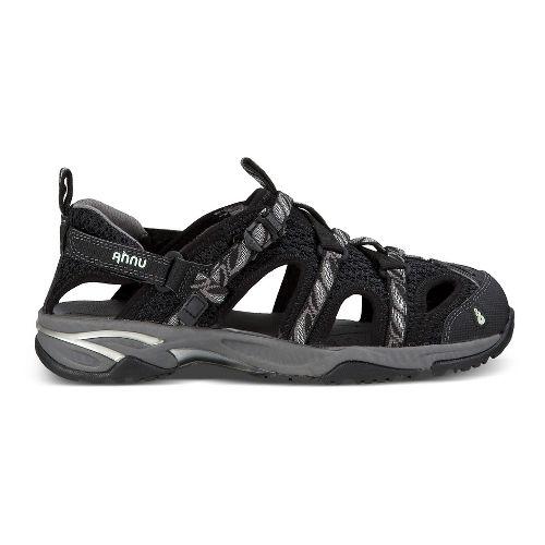 Womens Ahnu Tilden V Sandals Shoe - Leaf Black 6.5