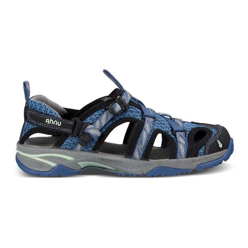 Womens Ahnu Tilden V Sandals Shoe - Leaf Regatta Blue 8.5