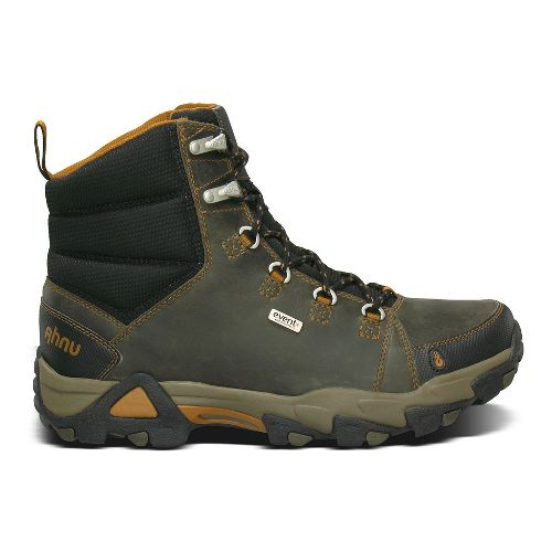 Mens Ahnu Coburn Boot Hiking Shoe - Dark Olive 8.5