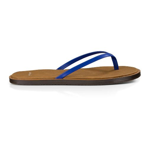Womens Sanuk Yoga Venus Sandals Shoe - Deep Blue 8