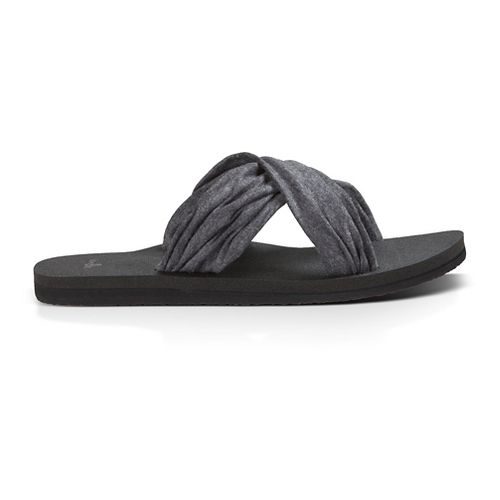 Womens Sanuk Yoga X-Hale Sandals Shoe - Black 9