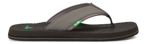 Mens Sanuk Beer Cozy 2 Sandals Shoe - Charcoal 11