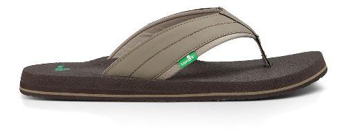 Mens Sanuk Beer Cozy 2 Sandals Shoe - Brindle 7