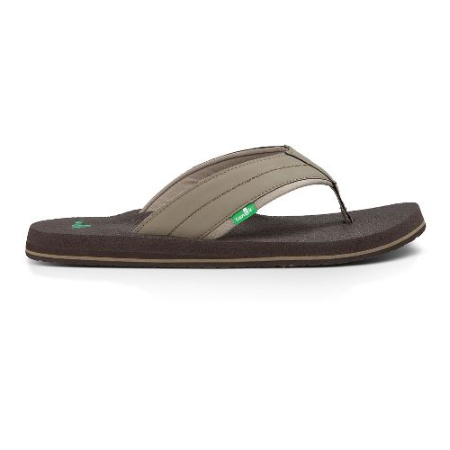 Mens Sanuk Beer Cozy 2 Sandals Shoe - Brindle 14