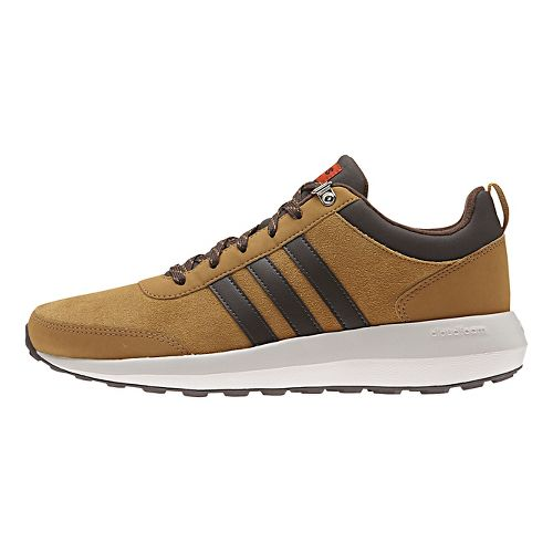 Mens adidas Cloudfoam Race WTR Casual Shoe - Brown 9