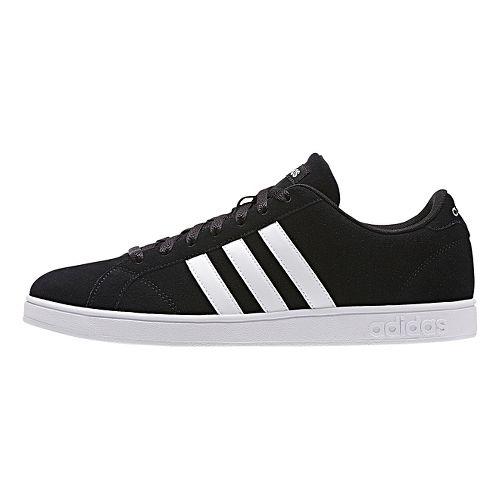 Mens adidas Baseline Casual Shoe - Core Black/White 7