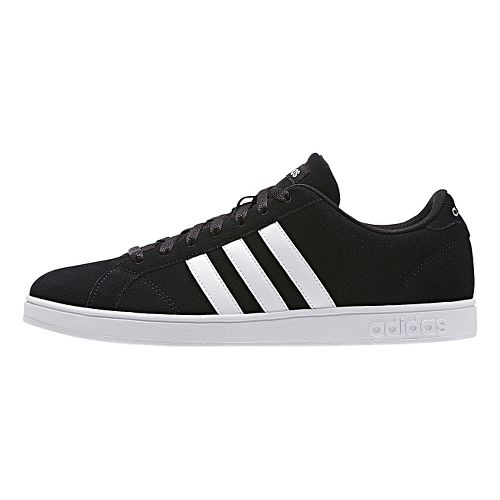 Mens adidas Baseline Casual Shoe - Core Black/White 8