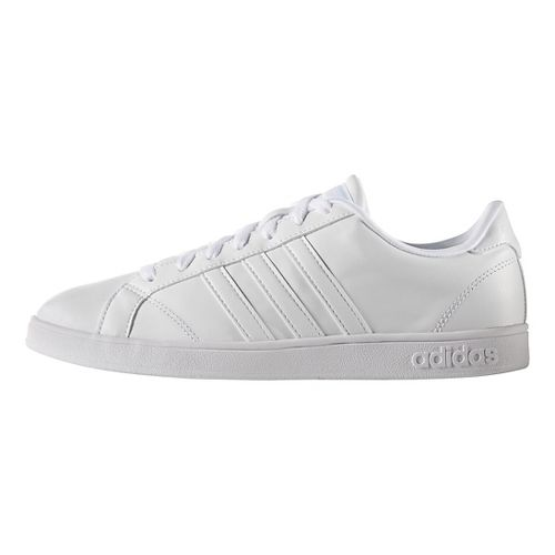 Mens adidas Baseline Casual Shoe - White/White 7