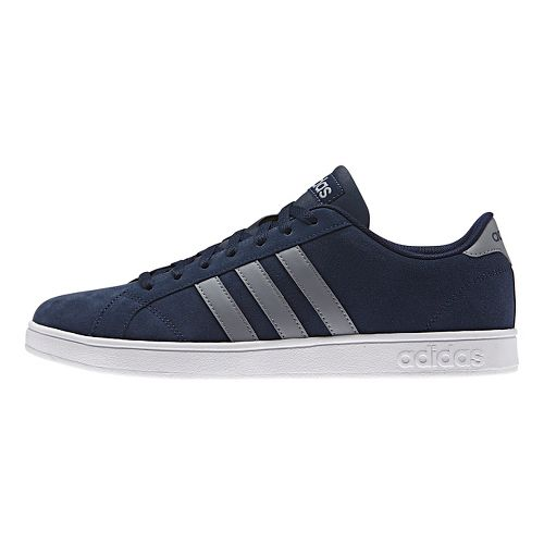 Mens adidas Baseline Casual Shoe - Navy/Grey 8.5