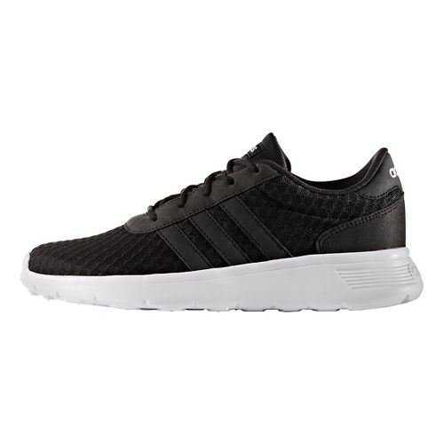 Womens adidas Lite Racer Casual Shoe - Core Black 8