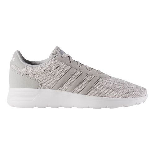Womens adidas Lite Racer Casual Shoe - Clear/White 8