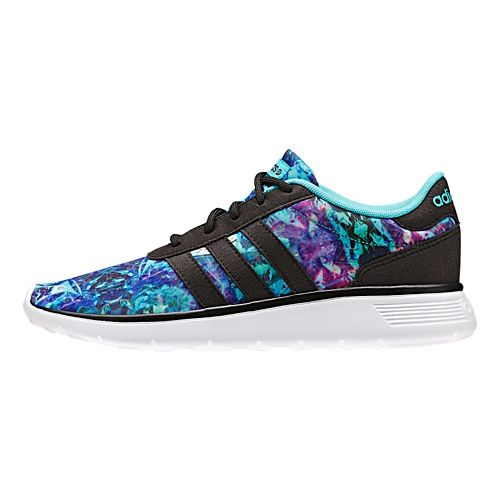 Womens adidas Lite Racer Casual Shoe - Mint/Black 5.5